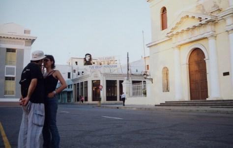 Momento romántico en Cienfuegos