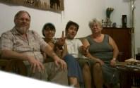 Jerusalen con Moshe y Carol.