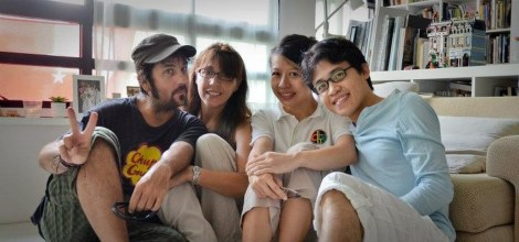 Singapur con Ben y Jeannie.