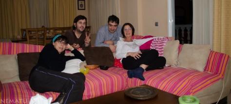 Con Nuria y Tristan