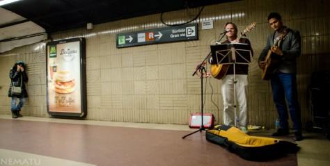 Musicos del Metro