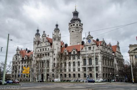 Ayuntamiento de Leipzig.