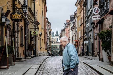 Paseando la Old Town.