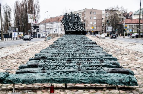 Monumento a los judíos asesinados en la guerra.