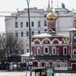 La iglesia más antigua de Moscú.