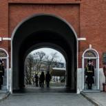 Entrada al Kremlin.