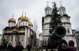 Cañon del zar Ivan el Terrible en el Kremlin.