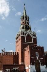 Torre Spasskaya del Kremlin.