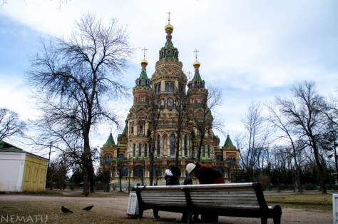 Catedral de Peterhof.
