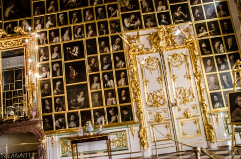 Interior del Palacio de Peterhog.