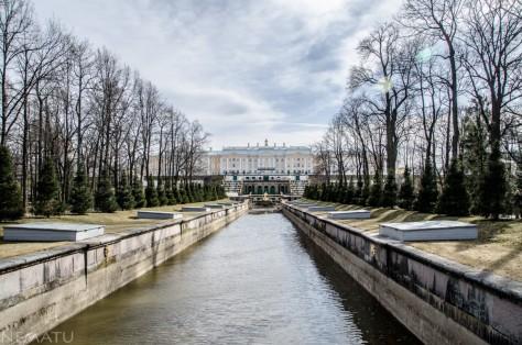 Palacio de Petergoh.
