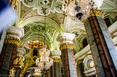 Interior de la Catedral de San Pedro y San Pablo.