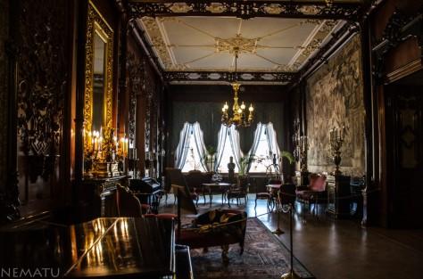 Interior del Palacio de los principes Yusupov.