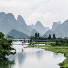 Río Li en Yangshuo.