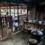 Restaurante en aldea en Luang Prabang.