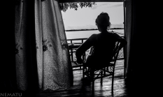 Relax junto al río Mekong en Champasak.