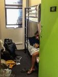 La peor habitación que hemos tenido que pagar en todo el viaje. 85 dólares. En Sydney.