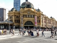 Flinders Street Station.