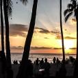 """""""Sunset"""" en Waikiki Beach."""