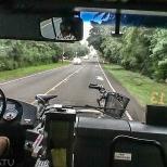 Bici anclada en bus.