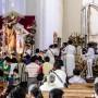 Mariachis en la Catedral.