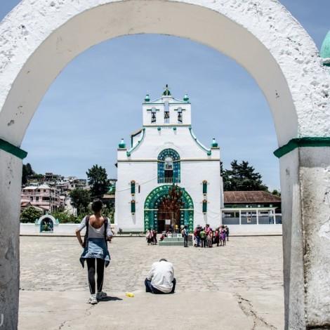 Iglesia de San Juan Chamula.